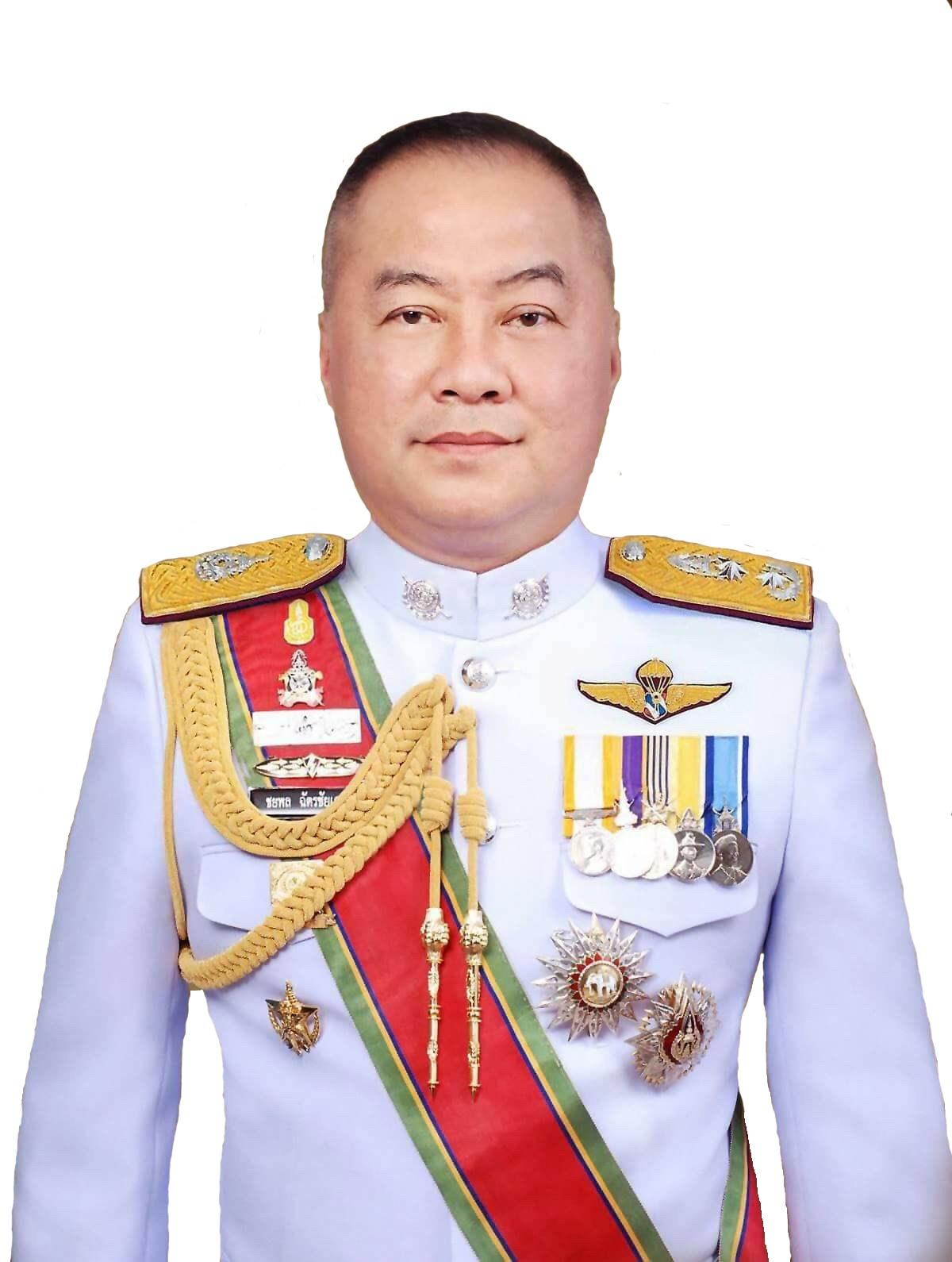 พล.ต.ต.ชยพล ฉัตรชัยเดช รองผู้บัญชาการตำรวจสันติบาล(๓)
