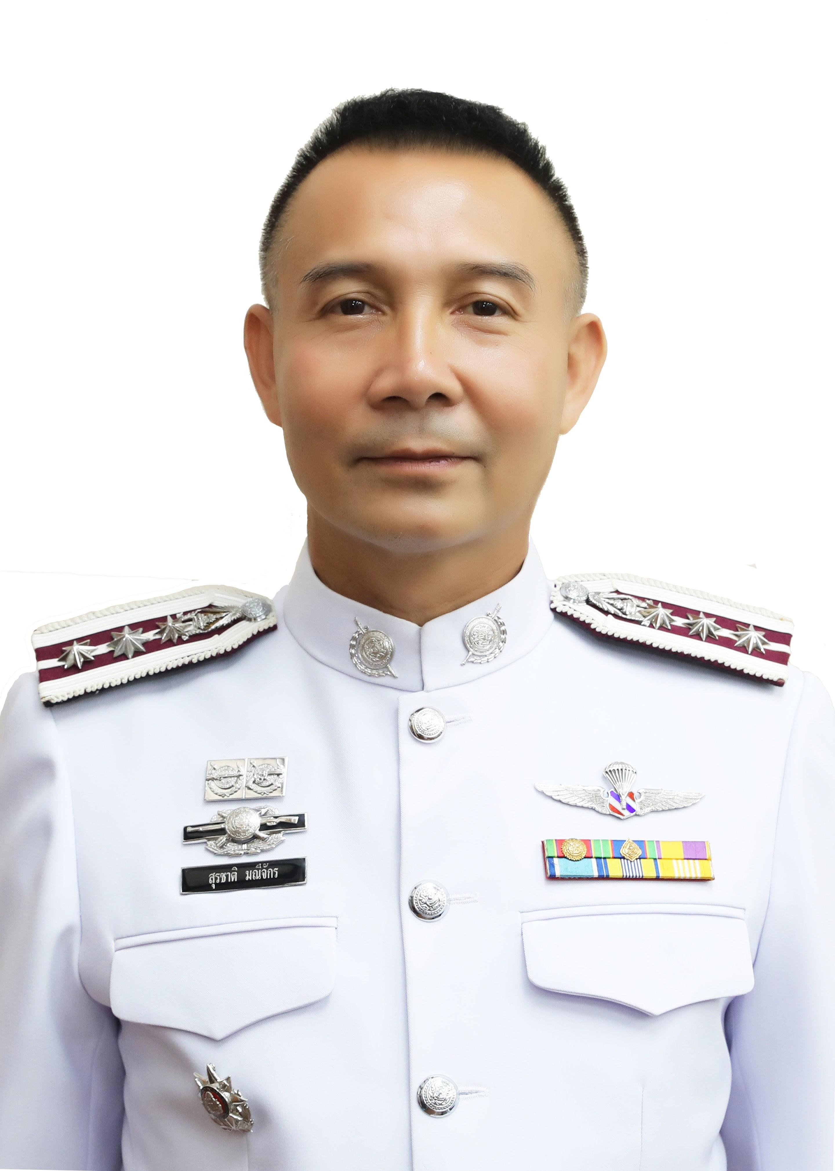 พล.ต.ต.สุรชาติ มณีจักร ผู้บังคับการตำรวจสันติบาล ๓